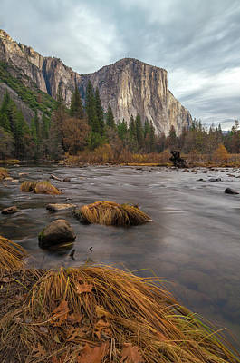 Photograph - Fall In Yosemite 1 by Jonathan Nguyen