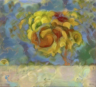 Mixed Media - Fall Is In The Air by Russell Pierce
