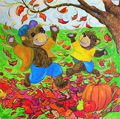 Painting - Fall by Jeanette Jarmon