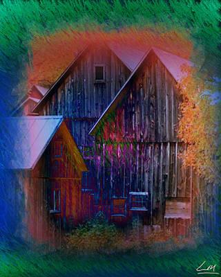 Digital Art - Fall Landscape by MrLou