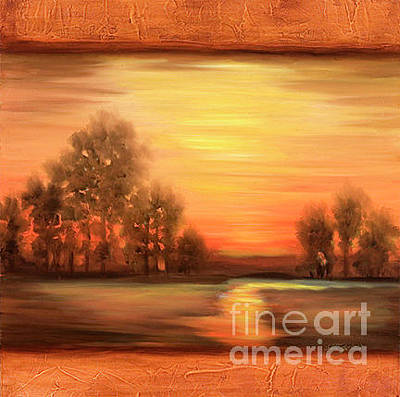 Painting - Fall Landscape by Pati Pelz