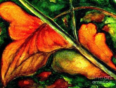 Painting - Fall Leaves 5 by Hazel Holland
