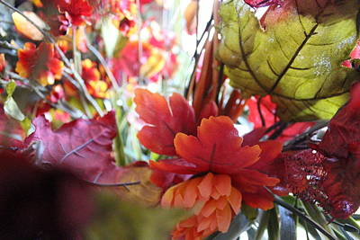 Photograph - Fall Leaves Design 2 by Sheri Dean