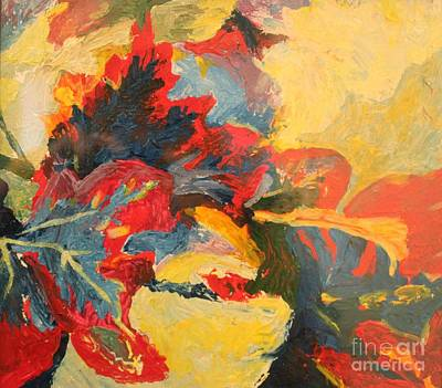Painting - Fall Leaves by Terri Thompson