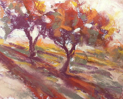 Painting - Fall Light by Becky Chappell