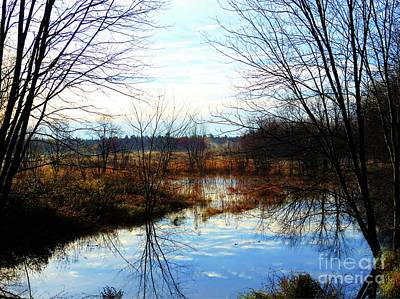 Photograph - Fall Morning At Deer Camp by Desiree Paquette