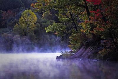 By Jackie Photograph - Fall Morning by Jackie Sajewski