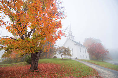 Photograph - Fall Morning by Tim Kirchoff