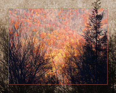Fall Mountain Art Print