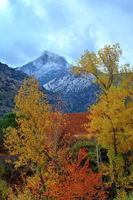 Fall Mountains Trevenque Art Print