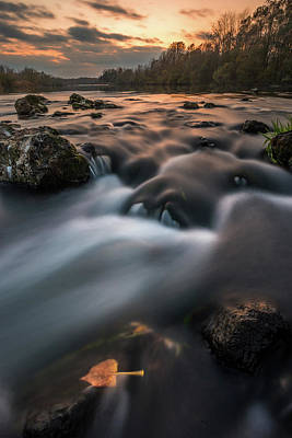 Photograph - Fall On River by Davorin Mance
