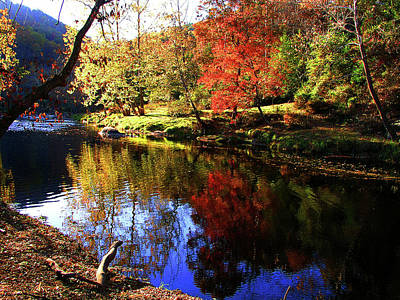Photograph - Fall On The River by Craig Burgwardt