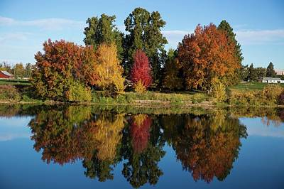 Photograph - Fall On The Yakima River by Lynn Hopwood