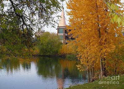 Photograph - Fall Pond  by Carol Groenen