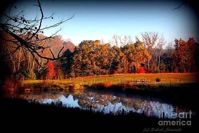 Photograph - Fall by Rabiah Seminole
