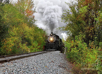 Photograph - Fall Rail 3 by Rick Lipscomb