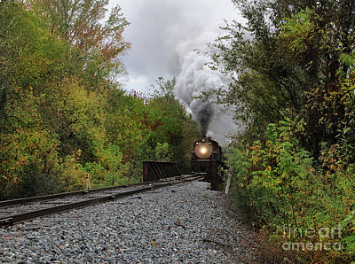 Photograph - Fall Rail by Rick Lipscomb