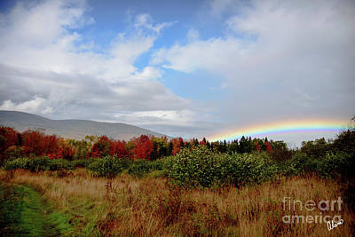 Photograph - Fall Rainbow by Alana Ranney