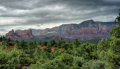 Photograph - Fall Rains In Sedona  by Saija Lehtonen
