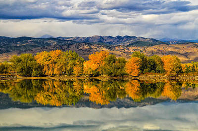 Photograph - Fall Reflection by Juli Ellen