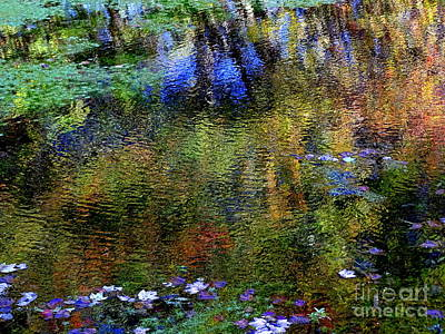 Photograph - Fall Reflections # 3 by Ed Weidman