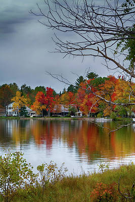 Photograph - Fall Reflections by Debby Richards