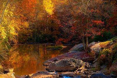 Photograph - Fall Reflections by Jeanne Sheridan