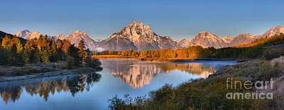 Photograph - Fall Reflections Of Mt. Moran by Adam Jewell