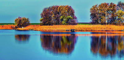 Photograph - Fall Reflections by Pixabay