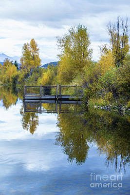 Photograph - Fall Reflections by Steven Parker