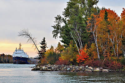 Riverstone Gallery Photograph - Fall River by Gregory Steele