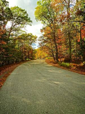 Photograph - Fall Roads by Kathi Isserman