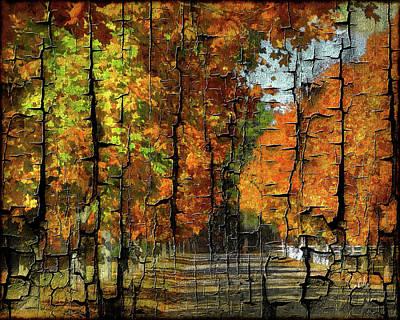 Digital Art - Fall by Sami Martin