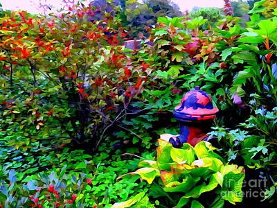Digital Art - Fall Scene by Ed Weidman