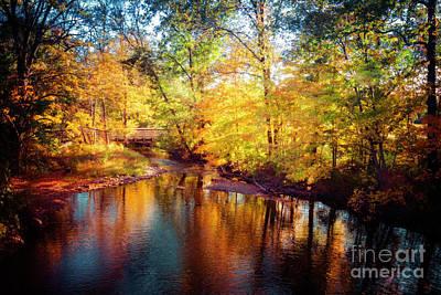 Photograph - Fall Scene In Stillwater by Eleanor Abramson