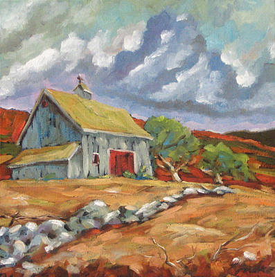 Canadiens Painting - Fall Scene by Richard T Pranke