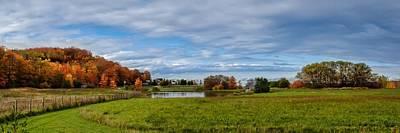Photograph - Fall Scenery by Jeff S PhotoArt