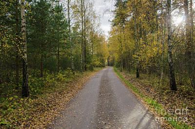 Art Print featuring the photograph Fall Season Adventure by Kennerth and Birgitta Kullman