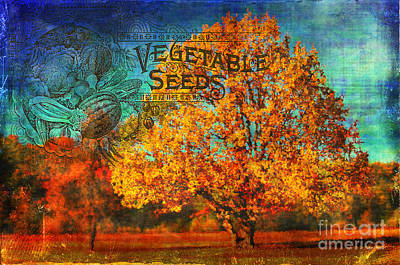 Digital Art - Fall Seed Catalog 2015 by Kathryn Strick