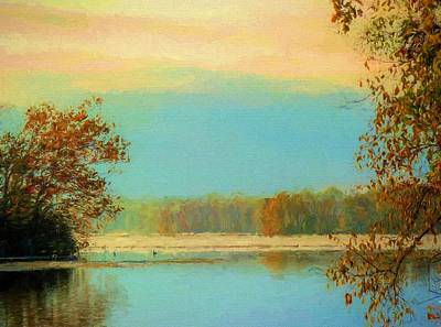 Autum Photograph - Fall Serenity  by JC Findley