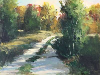 Painting - Fall Shadows by Mary Scott