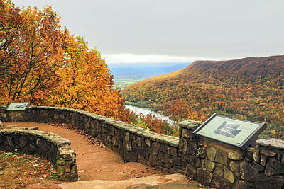 Photograph - Fall, Signal Point # 1 by Tom and Pat Cory