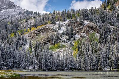 Photograph - Fall - Silver Lake - Wasatch Mountains - Utah by Gary Whitton
