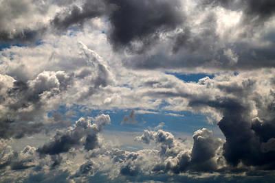 Photograph - Fall Sky 5 by Mary Bedy
