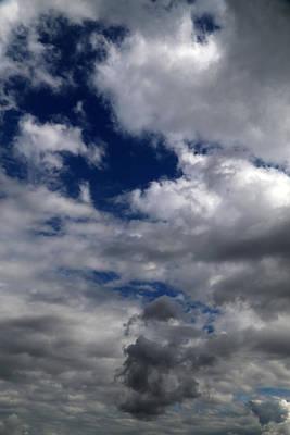 Photograph - Fall Sky 9 by Mary Bedy