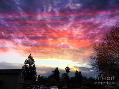 Photograph - Fall Sky by Leslie Hunziker