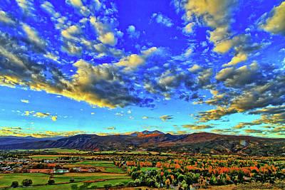 Fall Sky Art Print by Scott Mahon