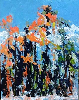 Painting - Fall Spectacular by Sally Bullers