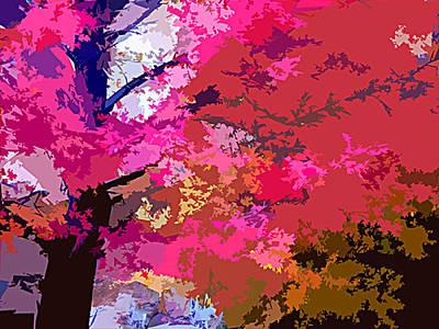 Fall Splendor Original by John Lautermilch