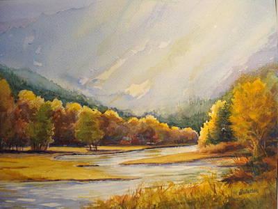Painting - Fall Splendor by Judy Fischer Walton